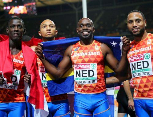 Nederlandse estafetteploeg 4 x 100 meter